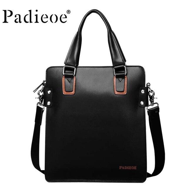 3b1612ec5457 Ipad bag letter package designer leather classic men s travel bag big name  brand men s briefcase computer bag