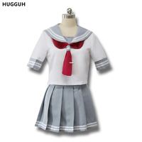New Polyester Woman S Cosplay Cartoon Love Live Sunshine Costume Short Sleeve School Uniform Hot Sale