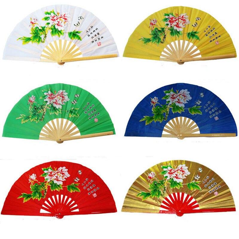 Fitness tai chi fan marciales artsshirts kung fu taichi taiji Rendimiento dos dragones de los fans de 6 colores