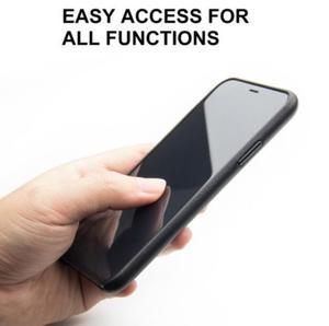 Image 5 - QIALINO אמיתי עור טלפון מקרה עבור iPhone XS בעבודת יד יוקרה אופנה אולטרה דק בחזרה שרוול כיסוי עבור iPhoneXS עבור 5.8 אינץ