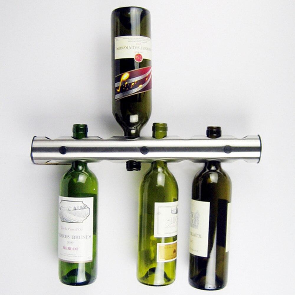 Stainless Steel Wine Holder For 8 Bottles