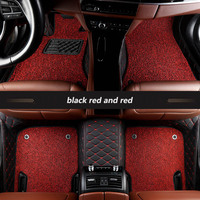 kalaisike Custom car floor mats for Chrysler 300c 300s Sebring PT Cruiser Grand Voyager Automobiles accessories car styling