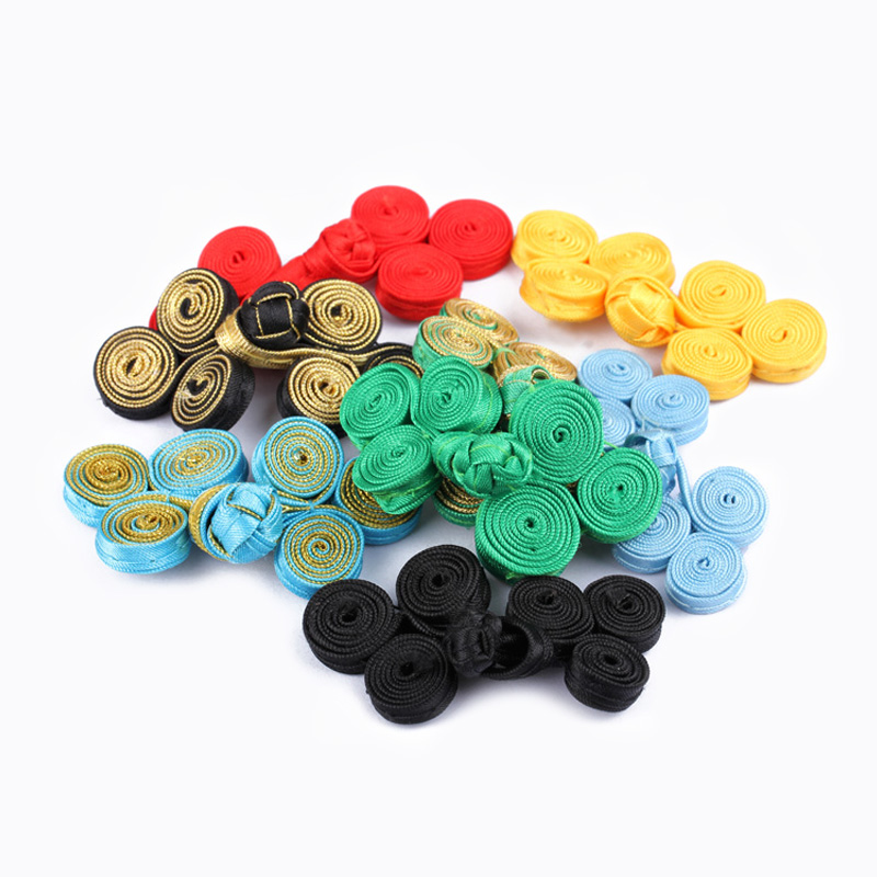 Arts,crafts & Sewing Hand Made Chinese Closefiting Satin Colorful Button For Tang Costume Dresing High-end Clothing Buttons For Clothing Sewing