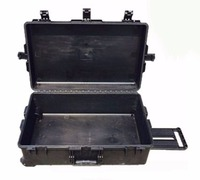 Tricases factory IP67 hard plastic large suitcase trolley tool case M2950 with pre cut foam