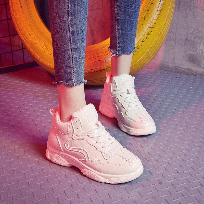Ins Fashion New Women's Casual Shoes White Korean Female Flat Sneakers Harajuku Style Girls Canvas Shoes Flats