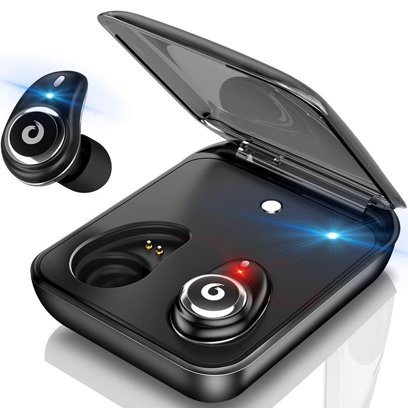 TWS I7 Plus Wireless Bluetooth Earphone For iPhone Touch Control Bluetooth Stereo Earbuds For iPad in-Ear Earphone For Android mini tws v5 0 bluetooth earphone port wireless earbuds stereo in ear bluetooth waterproof wireless ear buds headset yz209