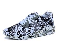 2018 new Camouflage Unisex Shoes Slipony men Height Increase male Comfort Footwear