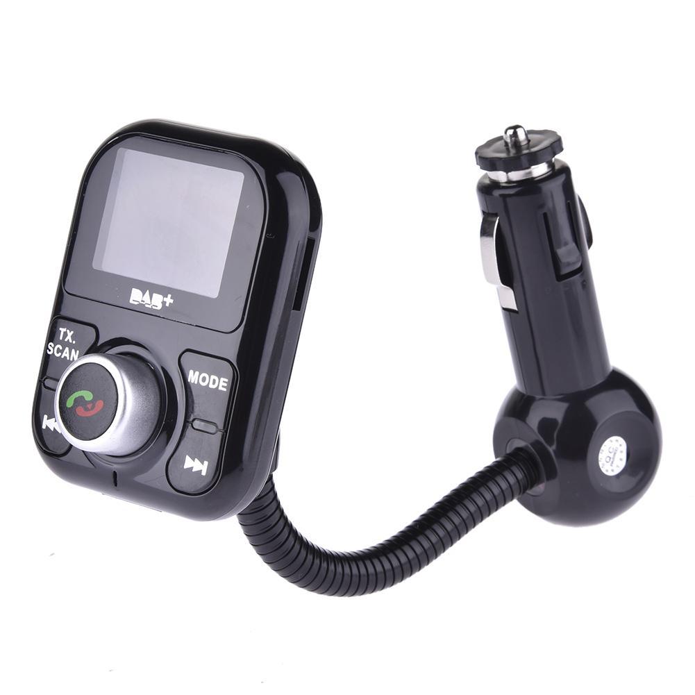 Adaptateur universel DAB + antenne récepteur FM antenne d'extension Bluetooth mains libres voiture DAB lecteur pour l'europe australie