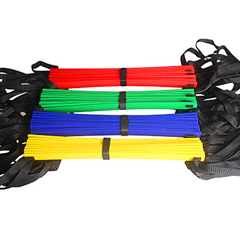 High Quality Outdoor Sports 5M 9 Rung Agility Ladder for Football Soccer Speed Carry Bag Training Equipment 4 colors