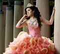 Imagens reais 2017 vestidos quinceanera vestido de baile sparkly sweet 16 ano da princesa vestidos para crianças de 15 anos vestidos de 15 años