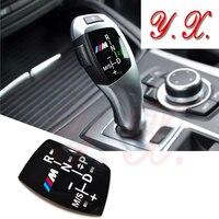 Car Styling Sticker For BMW Gear Shift Cover Decorative For BMW E39 E46 E60 E90 F10