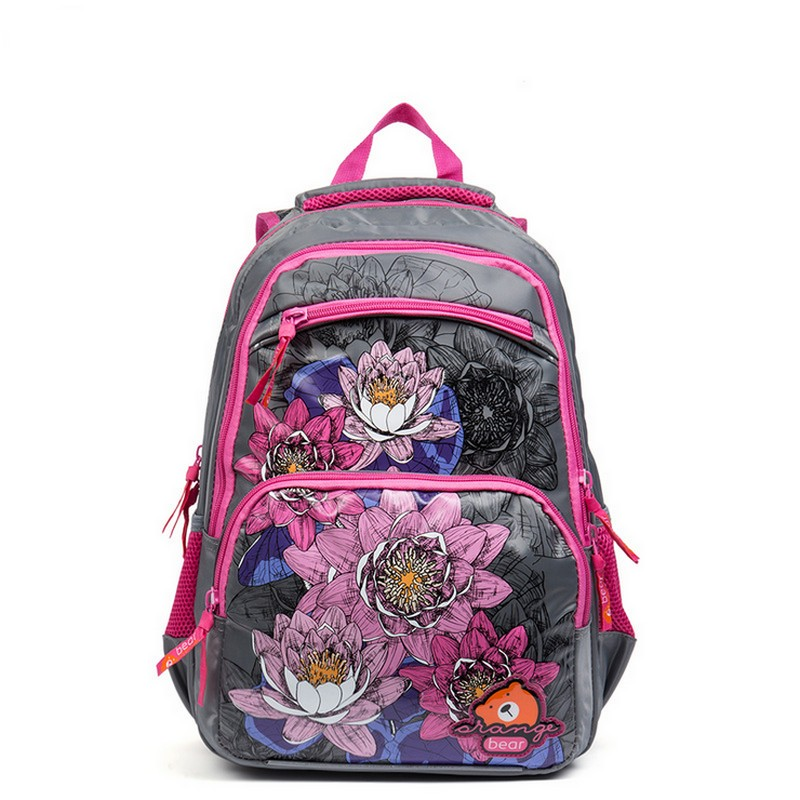 Fashion Russia Kids Backpack Cute Cartoon School Bags Orthopedic Waterproof Children Primary School for Girls Grade 1-4