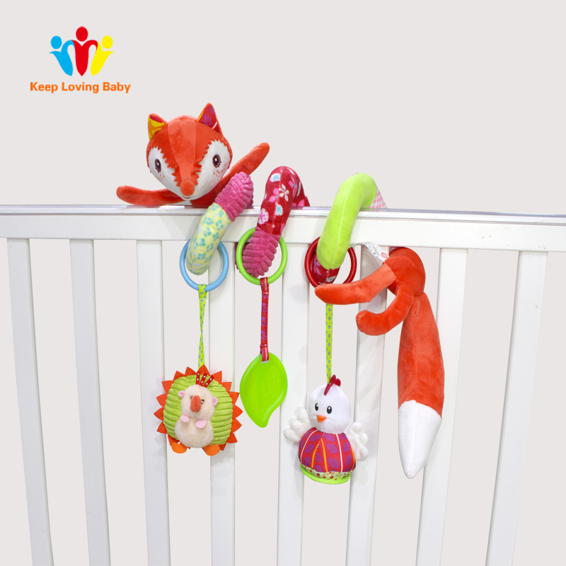 Baby Toys 0-12 Months Kids Newborn Mobile Baby Rattles Bed Around Infant Stroller Speelgoed Plush Toys Baby Crib Mobile
