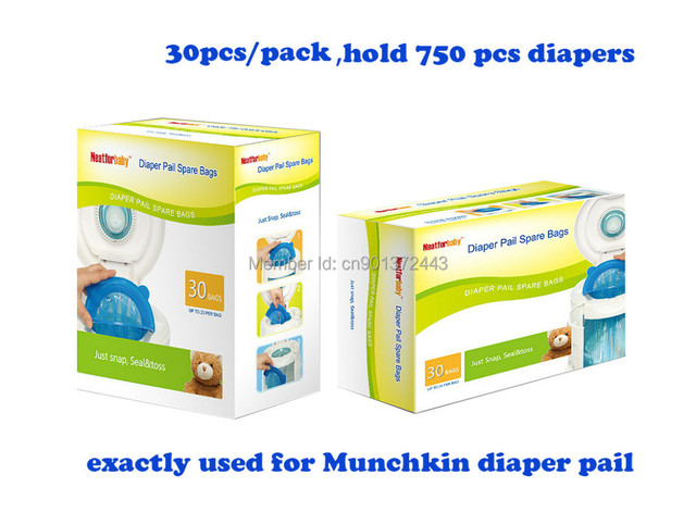 Baby Diper Pail Refill Bags Disposal Special Used For Munchkin Arm Hammer Diaper