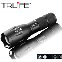 100 authentic e17 6000 lumens 5 mode cree xm l t6 led flashlight zoomable focus torch.jpg 250x250