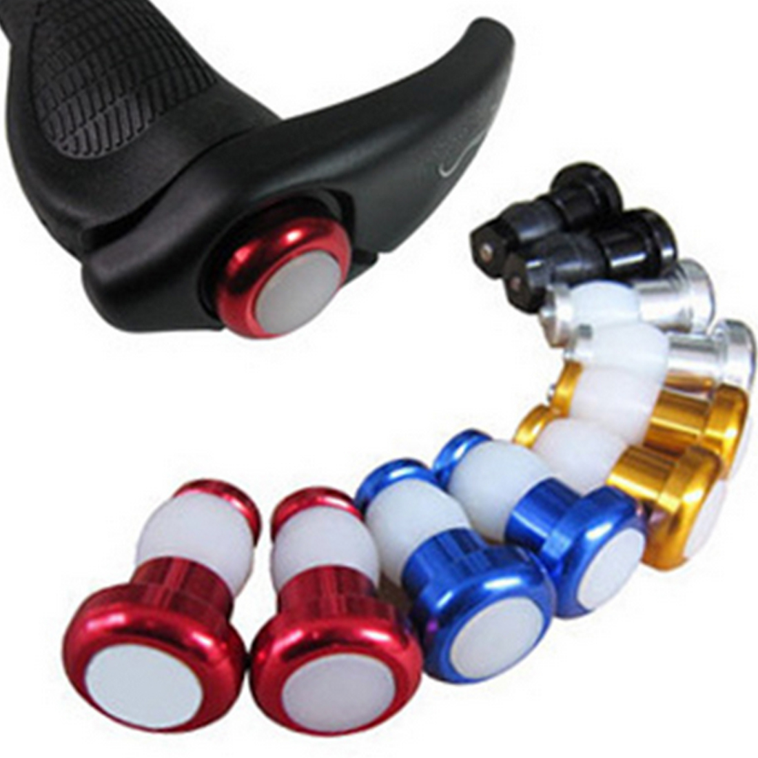 Bright 1Pair Bike Light Turn Signal LED Handlebar Indicator Safety Warning Lamp Cycling Safety Caution Light Bicycle Accessories
