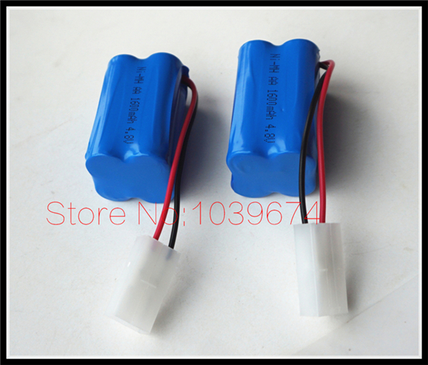 Factory outlet for 4.8V 1600MAH AA*4 Ni-MH Rechargeable chargeable Battery for Toys Cameras Game Players Power Source