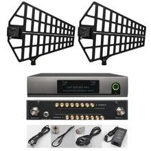 Betagear 8-Canal antena/sistema de distribución de energía inalámbrica antena activa Splitter apoyo 8 juegos receptores UHF 500- 950 Mhz