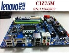 original motherboard Lenovo K430 CIZ75M LGA 1156 DDR3 USB3 WIFI 11200963 for E3 i7 i5 i3 Z75 Desktop motherboard Free shipping