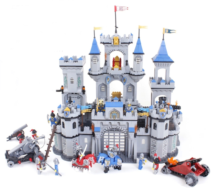 Toy Castles For Boys : Enlighten building blocks hot toy for boy knight series