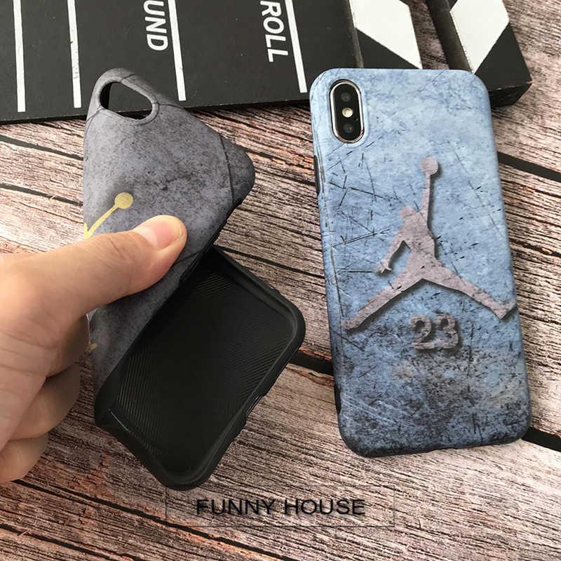 sports shoes 5c8eb e2990 ... New Retro Jump man Jordan soft cover case for iphone 6 6s S 6plus 7  7plus ...