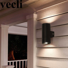 Hot up down exterior wall lamp led outside porch light waterproof villa garden wall sconces garden fence community balcony bra(China)