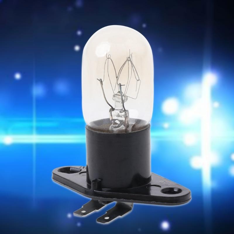 Микроволновая Печь круглая лампочка основание лампы дизайн 250 В 2A Замена Универсальный