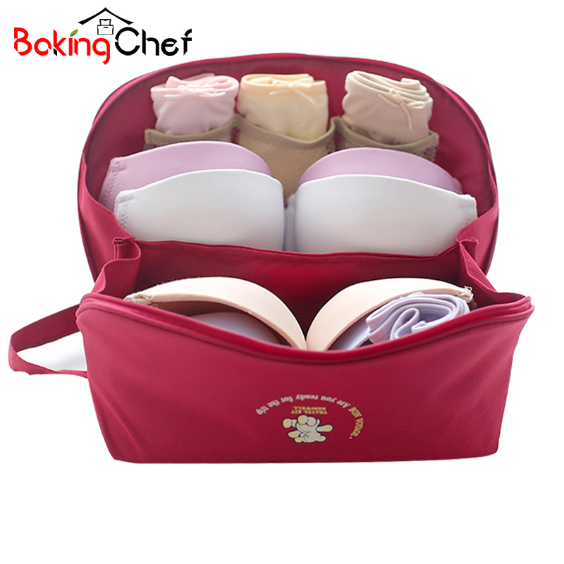 BAKINGCHEF Travel Underwear Storage Bag Clothing Drawer Finisher Container Packaging Accessories Supplies Gear Stuff Products