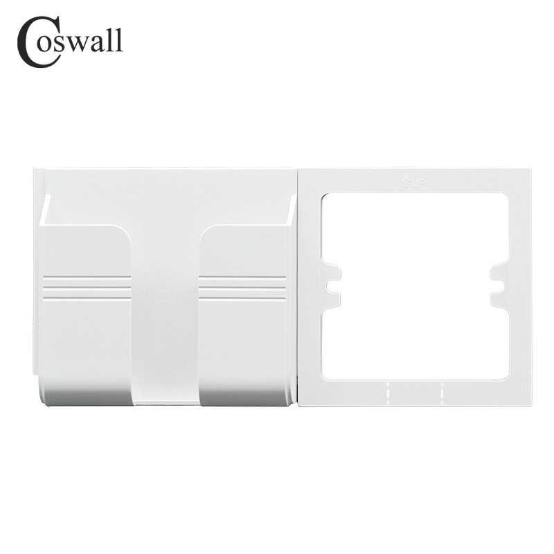 Coswall 壁ソケット電話ホルダースマートフォンアクセサリー携帯電話アップルサムスン Huawei 社の電話ホルダーのサポートスタンド