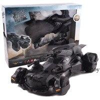DC Comics Action Figure Justice League Batman Action Figure 1:18 RC Batmobile Model Toy PVC Figures Collectible Toys Gift 25cm