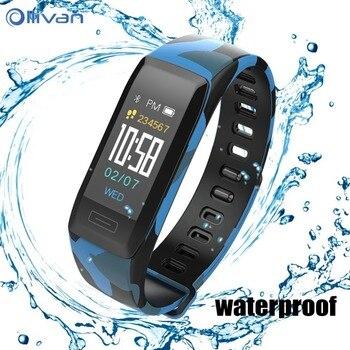 2018 New Original V7 PLUS Smart Bracelet Heart Rate Monitor Wristband Multi-sports Bracelet Waterproof Smart Watch Color LCD     reprendre sa vie en main