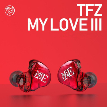 TFZ MY LOVE III HIFI Monitor In Ear Earphone Earplug Graphene Double Moving Circle With Detachable Cable TFZ AIR MY T2 S2 KING 1