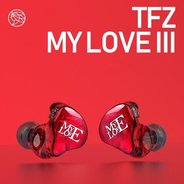 TFZ MY LOVE III HIFI Monitor In Ear Earphone Earplug Graphene Double Moving Circle With Detachable Cable TFZ AIR MY T2 S2 KING 1