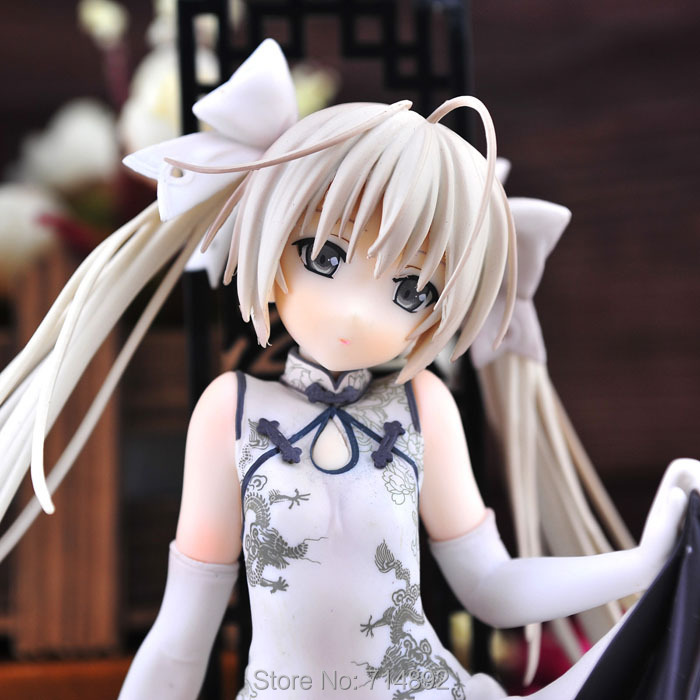 Yosuga no Sora action figure Kasugano Sora 1/7 scale PVC figure 8 Japan anime sex girl doll free shipping golden brass kitchen faucet dual handles vessel sink mixer tap swivel spout w pure water tap