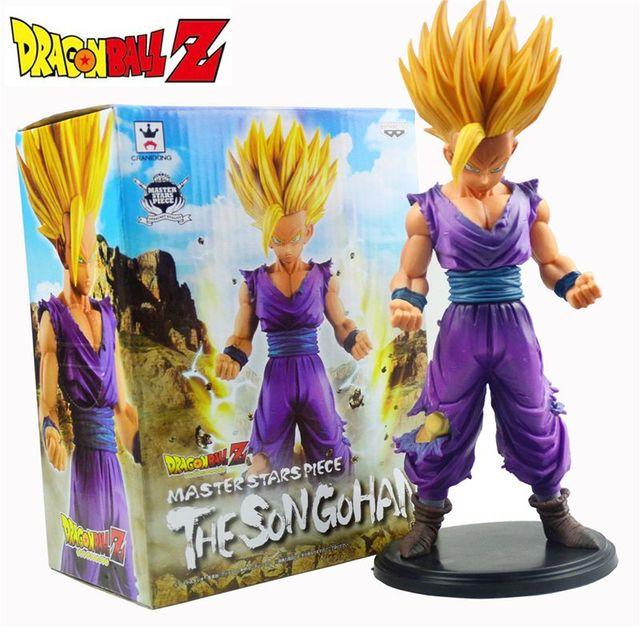 23 cm Anime Dragon Ball Z Goku acción PVC figuras Son Gohan Super Saiyan dragonball Z colección kids toys caja Original