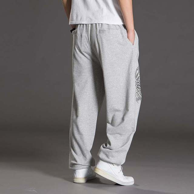 Baggy Joggingbroek Mannen.Online Shop Lente Herfst Big Size Joggingbroek Mannen Hiphop