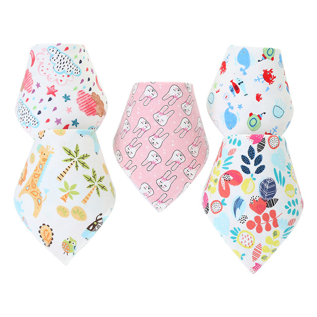 New Triangle Reusable Baby Bibs Washable Burp Cloth Scarf Children Baby Bibs Baberos Babador Bandana Bibs Baby Accessories