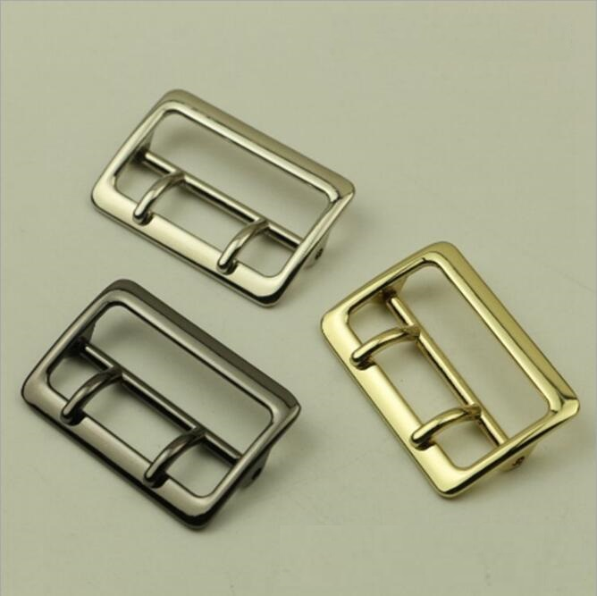 (10 PCS/lot) wholesale luggage handbag hardware accessories DIY shoulder strap link needle buckle adjustment belt buckle.