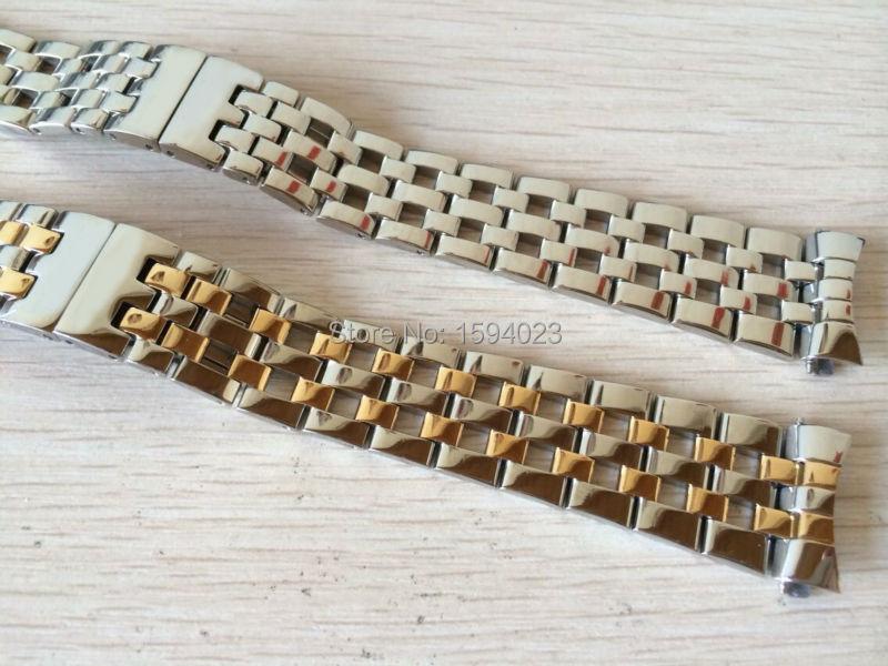 18mm (Schnalle 15mm) NEU T95 Herrenuhr Band T-CLASSIC Carson Series - Uhrenzubehör - Foto 5