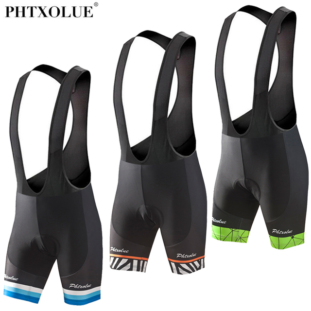 Phtxolue 2018 Cycling Bib Shorts Summer Coolmax GEL Breathable Pad Bike  Tights MTB Moisture Wicking Bicycle ade9beb91