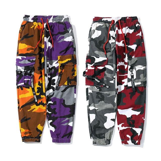 New Joggers Cargo Pants Men Streetwear Camouflage Fashions Hip Hip Korean Trousers Casual Plus Size Cp Pants Pantalones Hombre 38