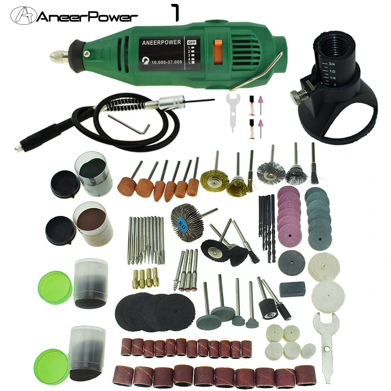 Electric Grinder 180w Mini Drill Dremel Style Engraving Pen Drill DIY Electric Rotary Tool Grinder Power Polishing Engraving