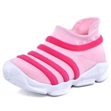 e40737545d CRIANÇAS 2018 meias Bebê Sapato Menina rosa Sapatilha Trainer sapatos  Baixos Sapata Do Esporte Menino Miúdo