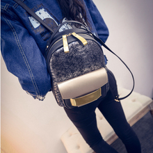 Comfortable PU Leather Backpack For Women