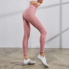 цена на High Waisted Yoga Leggings Workout Tights Gym Leggings for Women Scrunch Butt leggings Sport Yoga Bottoms Pants