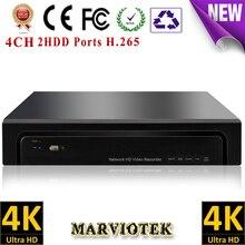 16CH nvr cctv 4K HDMI nvr 8ch security nvr onvif VGA 8MP nvrs ip camera 4CH 2 HDD video surveillance nvr recorder Goolink P2P