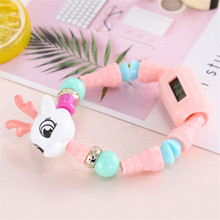 Children 2018 Fashion Watch Colorful toy Boy Girl Electronic Student S