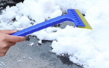 kongyide Snow Ice Scraper Car Windshield Auto Ice Remove Brush Clean tools for the car glass Cleaning Winter Snowbrush Jly10(China)