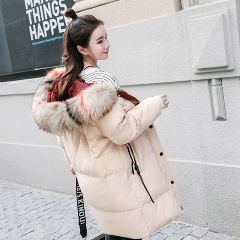 À Nuw321 2019 Black Long Chaud Grande Mode Doudoune beige D'hiver Supérieure Nouvelle Colour Femmes caramel Capuchon Qualité Moyen Taille De 4CYxqZ