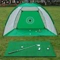 2m Golf Kooi Swing Trainer Pad Set Indoor Golfbal Praktijk Netto Golf Training Nieuwe zonder de mat